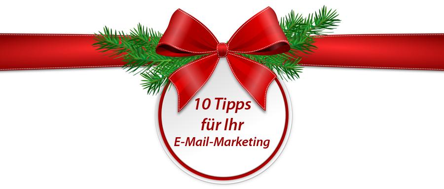 10 Tipps für erfolgreiches E-Mail-Marketing zu Weihnachten