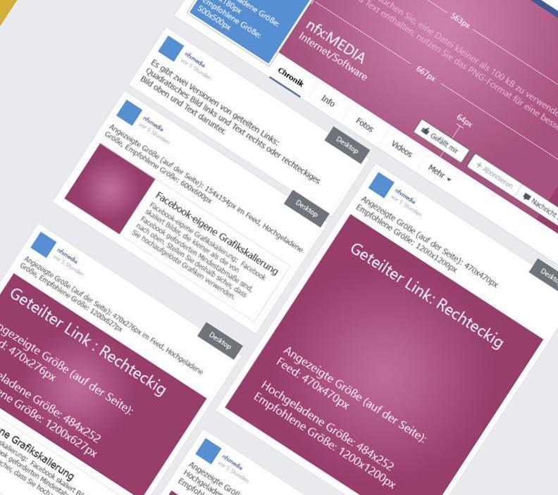 facebook Grafiken: Alle Größen und Formate [Infografik]