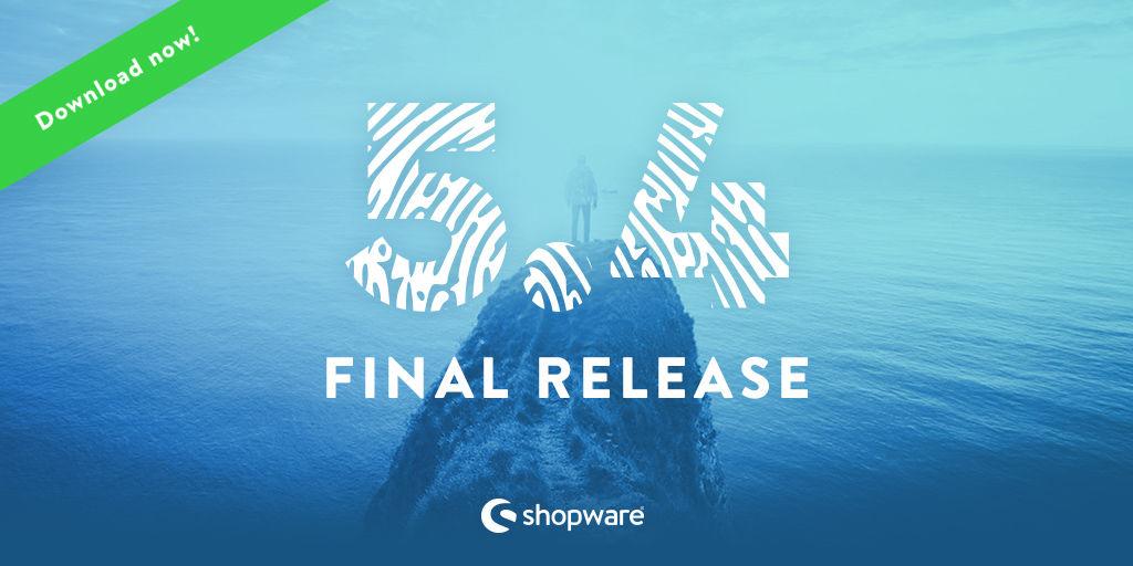 Shopware 5.4 ist da!